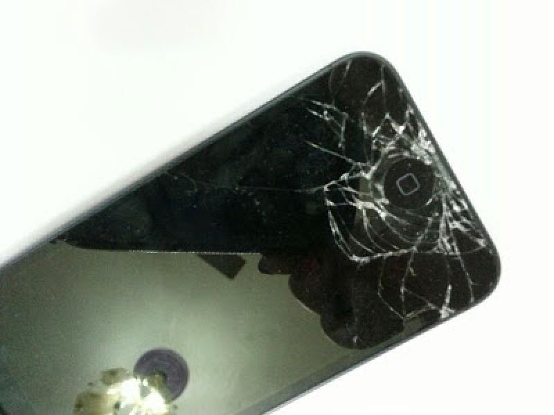 iPhone 5S i 5 zbita szyba - express serwis